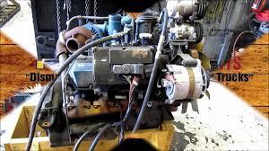 1998 International T444E Diesel Engine Running 174K miles - YouTube