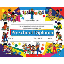 Kids Certificate Border Preschool Border Preschool Certificate Child Activity Border