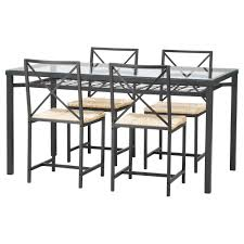 glass dining room sets ikea table outstanding