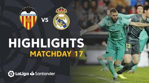 Highlights Valencia CF vs Real Madrid ...