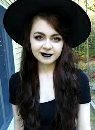 witch makeup with costume