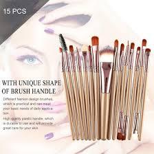 15pcs kit makeup brushes set cosmetic make up brush beauty tool synthetic hair