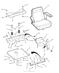 Seat assembly series 0 on wiring harness guard