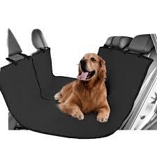 vivo heavy duty water resistant car rear seat boot protector hammock pet covers dog car