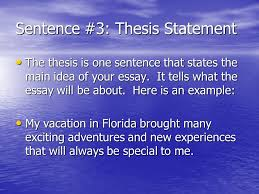 narrative essay thesis examples thesis statement for a  sentence 3 thesis statement narrative essay thesis examples