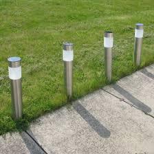 Black Nickel Solar PIR Garden Post LightSolar Garden Post Lights