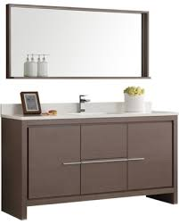 Modern single sink bathroom vanities 47 Inch Allier 60 People Presidents Day Deal Alert Allier 60
