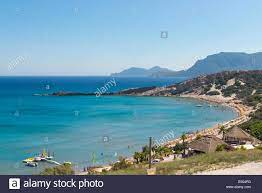 Paradise Beach in Kefalos Bay, Insel Kos, Griechenland Stockfotografie -  Alamy