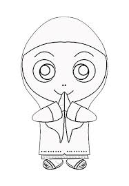 Small Picture Muslim Girl Coloring PagesGirlPrintable Coloring Pages Free Download