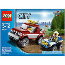 4437 POLICE PURSUIT lego city town SEALED legos set 4x4 retired ...