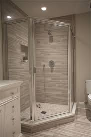 how to install shower stall chrome framed neo angle shower enclosure with clear glass door