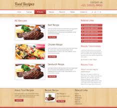 Food Recipe Template Template 051 Responsive Food Recipe