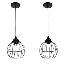 Lifa Living Draad Hanglamp 2 Delig Zwart Betaalbaarshoppennl