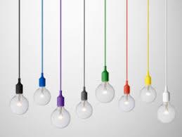 cord lighting. Coloured Cord Pendant Lights Lighting N