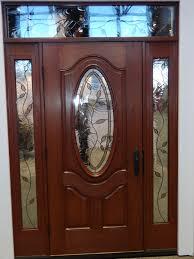 exterior design wonderful fiberglass entry door with sidelights for reliabilt hampton oval lite decorative glass