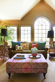 Purple Accessories For Living Room Living Room Exotic Bohemian Living Room With Purple Decor