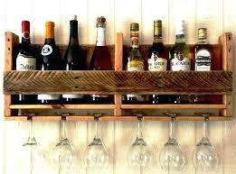 wine glass rack shelf hanging bunnings