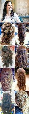 Wedding Half Up Hairstyles 16 Overwhelming Half Up Half Down Wedding Hairstyles Pretty Designs