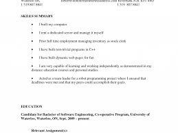 Stylish Stocker Resume Sample Smartness Stock Free Example And