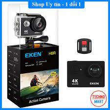 Camera hành trình Eken Ultra HD Wifi quay video 4K tặng đầy đủ bộ phụ kiện  sports lắp đặt trên cả ô tô xe máy giá cạnh tranh