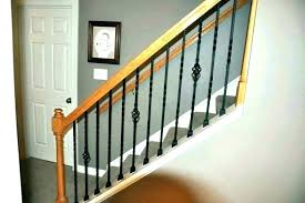 Metal railing stairs Simple Lowes Wrought Iron Railing Iron Stair Balusters Pictures Metal Railing Wrought Baluster Installation Walkerton Hawks Lowes Wrought Iron Railing Iron Stair Balusters Pictures Metal