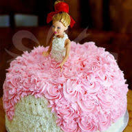 Barbie Cake Online Barbie Birthday Cake Barbie Doll Cake Indiagift