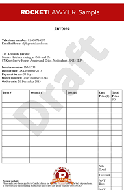 Example Of Invoice Gorgeous Invoice Template Free Invoice Template Create An Invoice Template