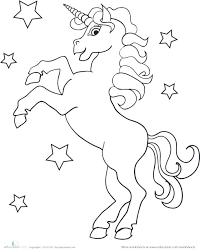 Baby Unicorn Coloring Pages Unicorn Coloring Rainbow Unicorn Baby