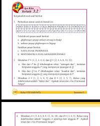 Buku paket matematika kelas 7 kurikulum 2013. Jawaban Ayo Kita Berlatih 3 2 Kelas 8 Semester 1 Brainly Co Id