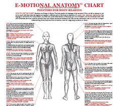 Emotional Anatomy Chart E Motional Anatomy Chart