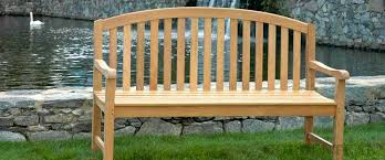 Goldenteak Aquinah Bench Banner