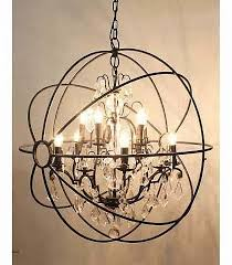 grand orb chandelier