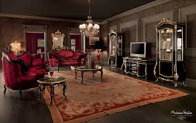 classical living room furniture. Classic Living Room Wall Unit / Painted Wood VILLA VENEZIA Modenese Gastone Luxury Furniture Classical T