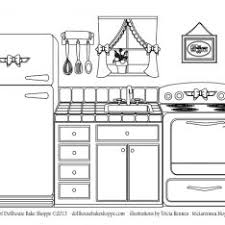 Small Picture Kitchen Safety Coloring Pages