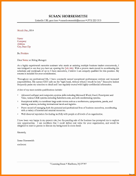 Resume Cover Letter Administrative Assistant Best Administrative