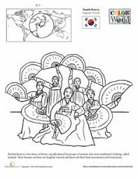 302c6ba16e3dda55557b4e7b168911a7 art of dance art worksheets south korea flag colouring sheet for colouring during the closing on national geographic inside north korea worksheet