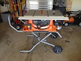 ridgid table saw. table saw (amazon link) · ridgid r4510 1