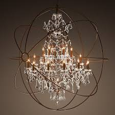 rustic chandelier and get free on aliexpress com for orb with crystals plan 15