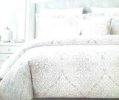 tahari comforter set home bedding home king duvet cover set paisley medallion bohemian style blue gray tan silver home bedding home twin tahari home quilted