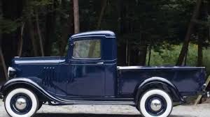 1934 Chevrolet Closed Cab Pickup - YouTube