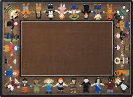 children of many cultures rug earthtone