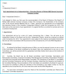 Company Appointment Letters 20 Samples Examples Formats