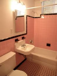 French Bathroom Tiles Happy New Year And The Pink Tile Bathroom Is Back Black