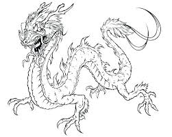 Dragon Coloriage Pages Mythical Creature Coloring Pages Dragon For