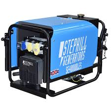 electric generators. Stephill SE4000DLES 4.0 KVA Lombardini Silent Electric Start Diesel Generator 3000 RPM Generators R