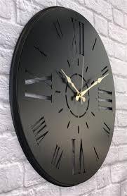 metal wall clock metal clocks modern