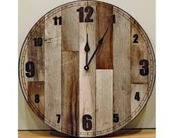 Sold and shipped by spreetail. 24 Inch Wall Clock Etsy