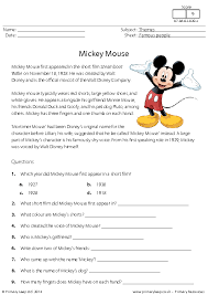 Listening Comprehension Worksheets Grade 4 Worksheets for all ...