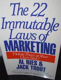 22 Immutable Laws Of Marketing 22 Immutable Laws Of Marketing Panictank