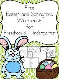 Free Easter & Springtime Worksheets for Beginning Readers - The ...